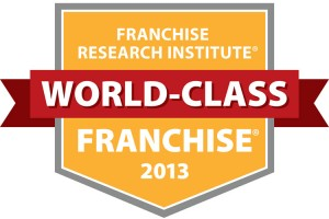 2013 Franchise Research Institude World-Class Franchise