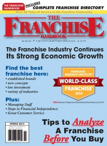 Pages from Franchise Handbook
